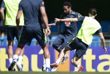 Com Neymar, Tite fecha primeiro treino da seleção brasileira em Teresópolis | Lucas Figueiredo l CBF
