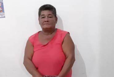 Mulher é presa por tráfico de drogas e corrupção de menores na Bahia | Divulgação | SSP-BA