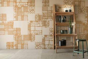 Decortiles reproduz efeitos de tecidos em porcelanatos e azulejos | Divulgação | Decortiles
