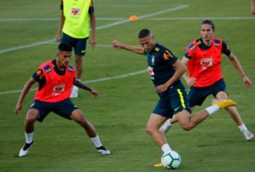 Seleção faz primeiro treino com bola na Granja Comary | Fernando Frazão l Agência Brasil