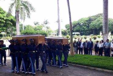 Cerimônia de cremação de Embaixador do Brasil e esposa é realizada em Salvador | Luan Borges | Ag. A TARDE