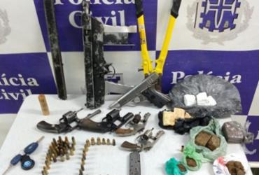 Três suspeitos flagrados com armas são mortos em Senhor do Bonfim | Divulgação | SSP