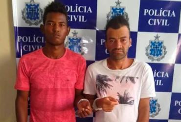 Dupla suspeita de tráfico é presa em Santo Antônio de Jesus | Divulgação | Polícia Civil