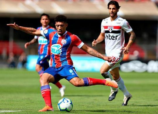 Com um a mais, Bahia não sai do zero contra o São Paulo | Felipe Oliveira | EC Bahia