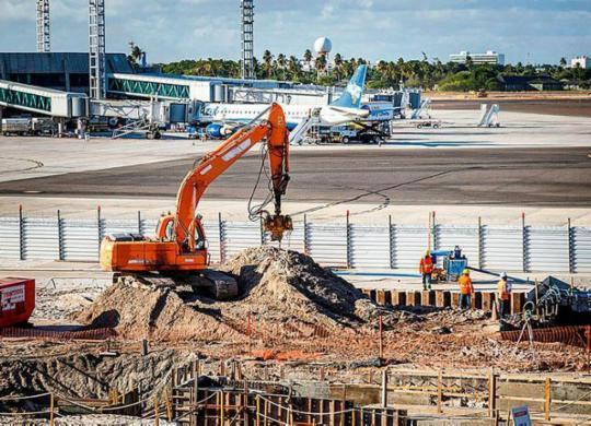 Obra do Aeroporto Internacional de Salvador será concluída em outubro | Will Recarey | Divulgação