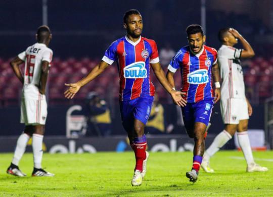 Bahia bate o São Paulo no Morumbi e sai em vantagem nas oitavas de final | Marcello Fim l O Fotográfico l Estadão Conteúdo