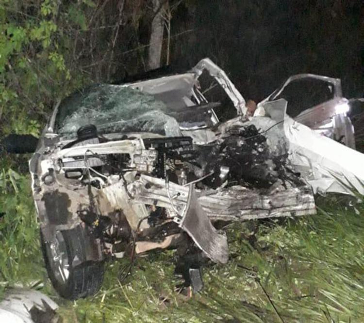 O acidente ocorreu por volta das 22h, no trecho entre as cidades de Catu e Alagoinhas - Foto: Cidadão Repórter