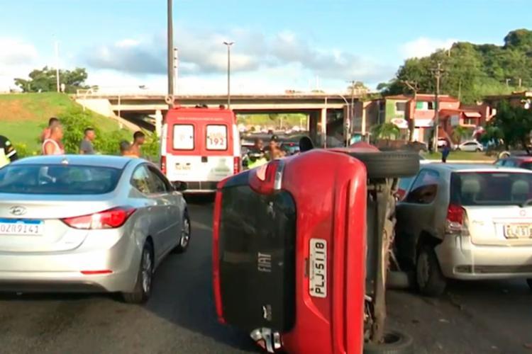 Ainda não se sabe o que teria causado o acidente - Foto: Reprodução | TV Bahia