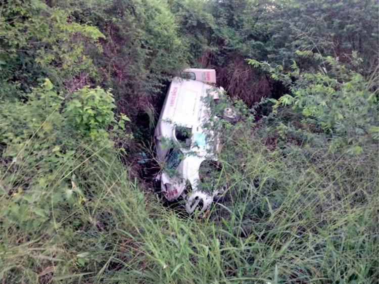 O acidente aconteceu trecho entre a localidade de Serra Preta e o entrocamento com BA-120 - Foto: Reprodução   Blog Página Revista