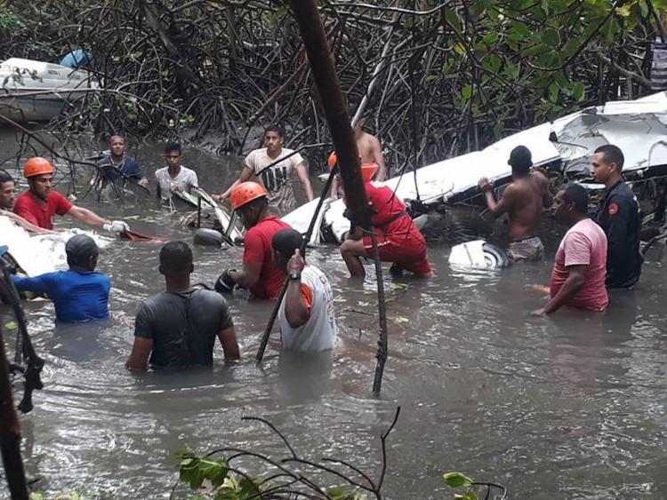 O cantor Gabriel Diniz e dois pilotos morreram no acidente - Foto: Divulgação l Corpo de Bombeiros de Sergipe