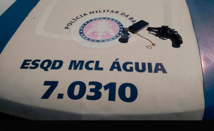 Material encontrado pela polícia com o menor - Foto: Divulgação | SSP