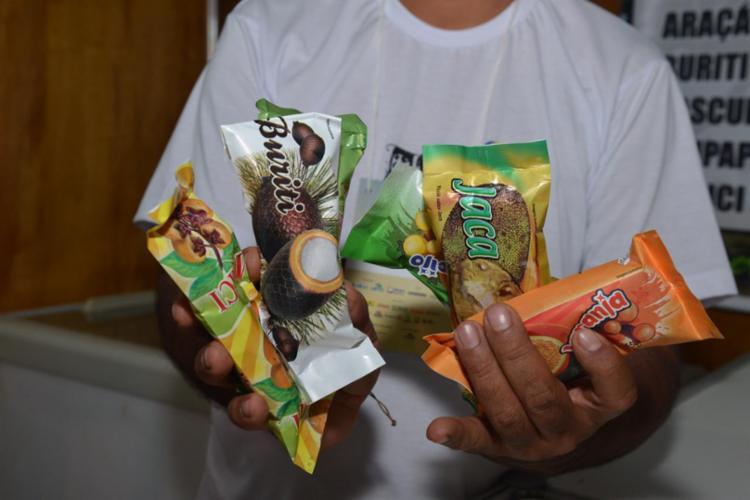Os picolés com sabores do Cerrado são destaque no Espaço da Agricultura Familiar
