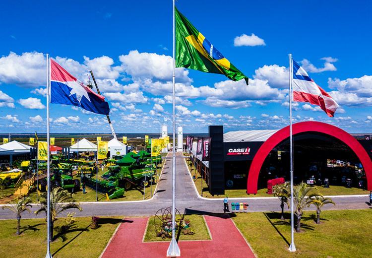 A feira, que segue até dia 1º de junho, está entre as três maiores do país em volume de negócios e é a maior do agronegócio do Norte e Nordeste - Foto: Divulgação