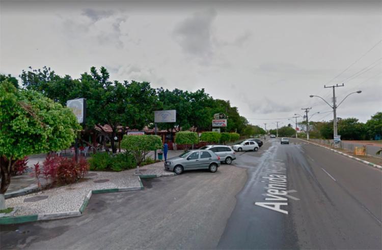 A suspensão afetará localidades como Guarajuba - Foto: Reprodução | Google Maps