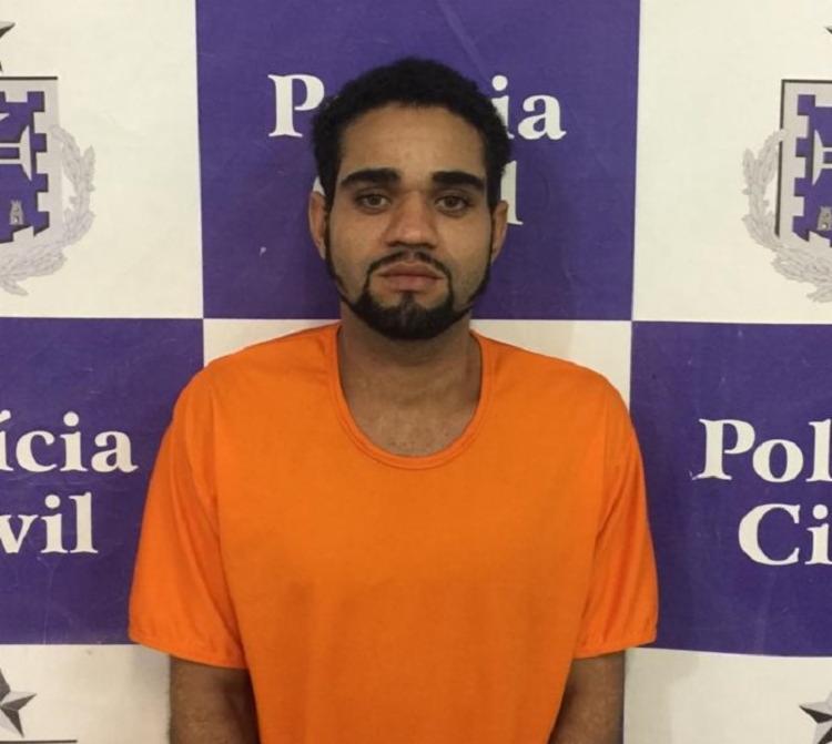 Deivisson era procurado por assalto em diversas regiões de Salvador - Foto: Divulgação | Ascom-PC