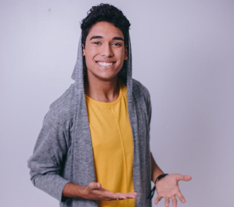 Youtuber apresenta show na Concha Acústica do TCA - Foto: Divulgação
