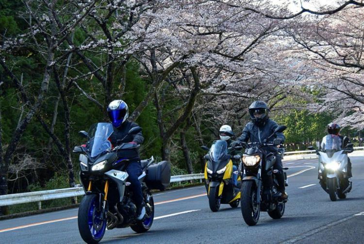 Yamaha organiza passeios em grupos - Foto: Divulgação