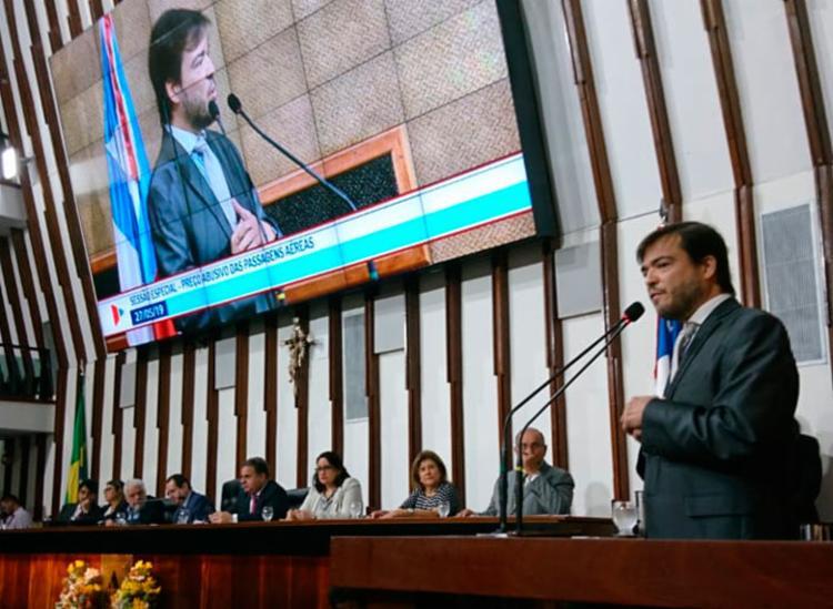 Anúncio foi feito durante sessão especial da Assembleia Legislativa da Bahia - Foto: Raul Aguilar | Ag. A TARDE