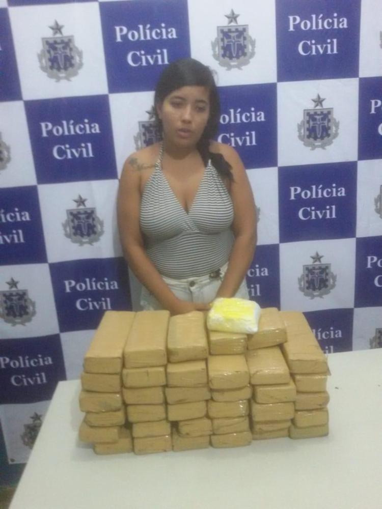 Segundo Vanilla as drogas seriam entregues a uma pessoa em Itacaré - Foto: Divulgação   SSP-BA