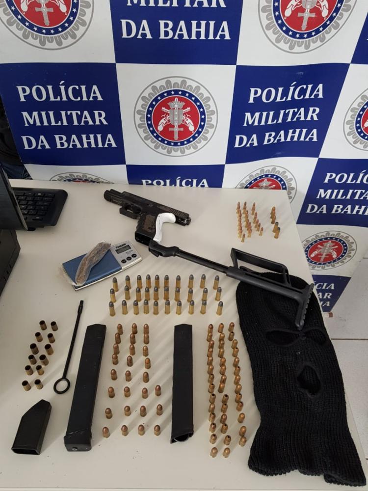 Materiais foram encontrados com Ivagno - Foto: Divulgação | SSP-BA