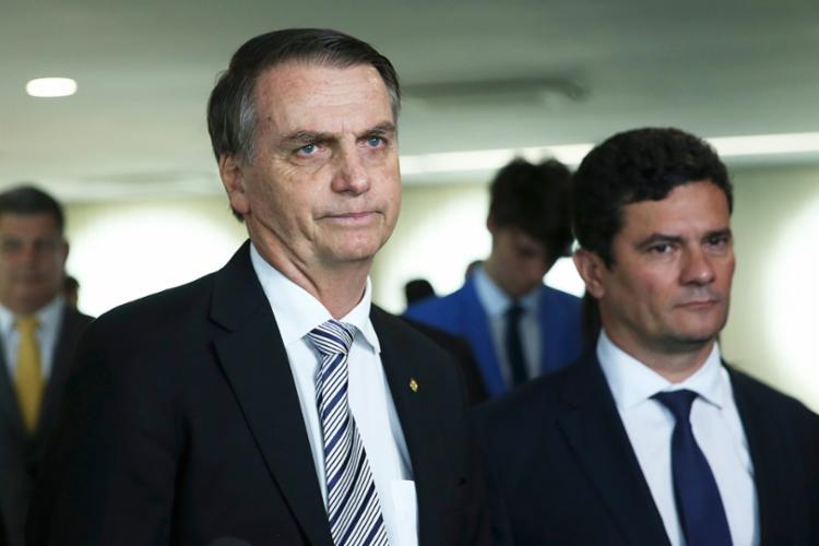 Bolsonaro disse acreditar que Moro seria 'grande aliado' no STF - Foto: José Cruz | Agência Brasil