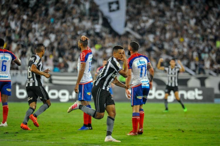 Tricolor não resistiu à pressão do time da casa e saiu derrotado no Engenhão - Foto: Nayara Halm l Estadão Conteúdo