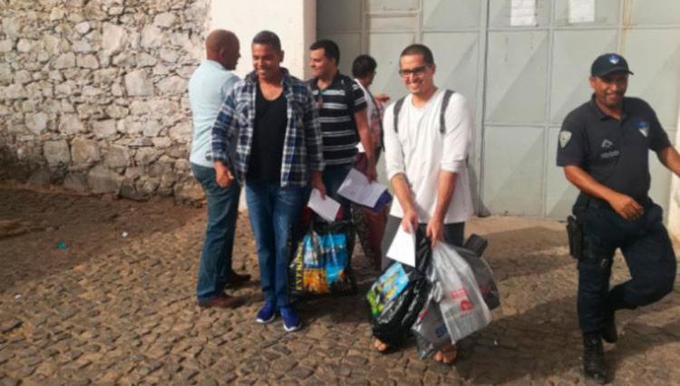 Baianos Rodrigo e Daniel e o gaúcho Daniel Guerra foram liberados da prisão em fevereiro deste ano - Foto: Divulgação