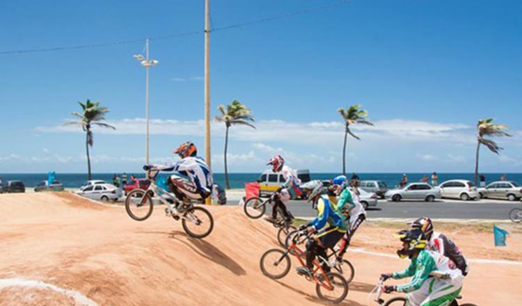 A competição será realizada na pista Tertuliano Torres, localizada na praia do Corsário - Foto: Divulgação | ABSBMX