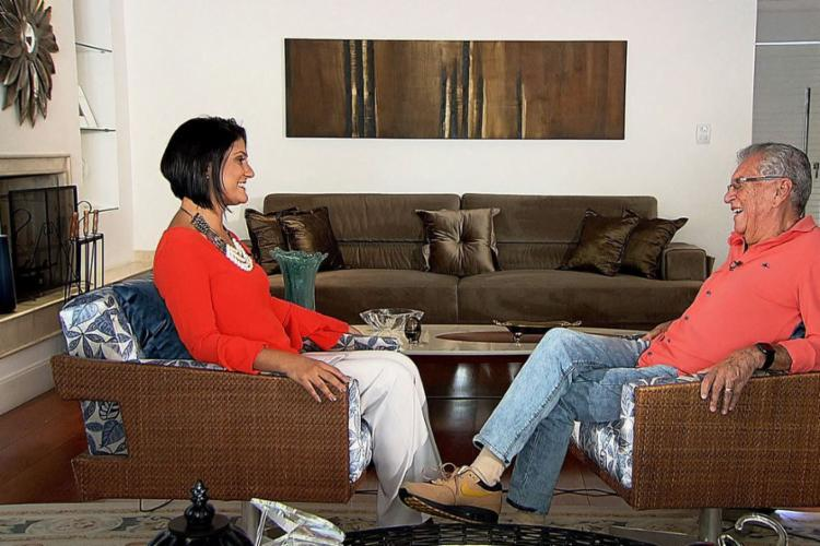 Comediante participou de entrevista ao programa Impressões da TV Brasil. - Foto: Divulgação | TV Brasil