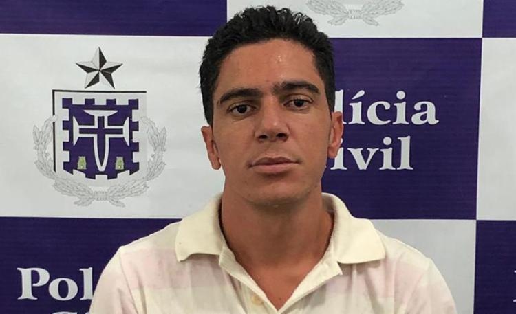 Douglas Barreto Medrado, de 28 anos, já tinha passagem na polícia por tráfico de drogas - Foto: Divulgação   SSP-BA