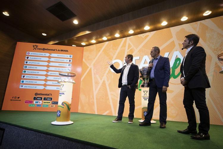 Próxima fase da competição teve duelos definidos após sorteio na sede da CBF, no Rio de Janeiro - Foto: Lucas Figueiredo l CBF