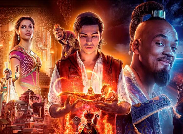 Filme de Aladdin arrecadou US$ 105 milhões - Foto: Divulgação