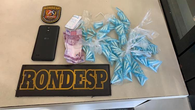 Material apreendido pela polícia com a suspeita de tráfico - Foto: Divulgação l SSP-BA