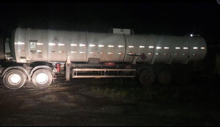 O veículo saiu do estado de Goiás com destino final o porto da cidade de Recife - Foto: Divulgação l SSP-BA