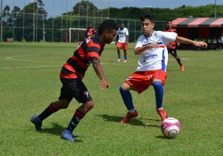 No sábado, o Vitória venceu a seleção de Cachoeira por 1 a 0 - Foto: Divulgação | Ascom Sudesb