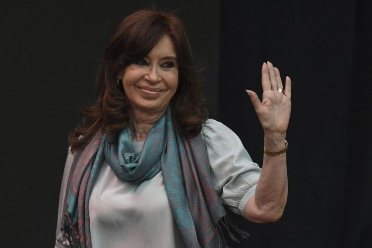 Cristina Kirchner é favorita nas pesquisas eleitorais - Foto: Eitan Abramovch l AFP
