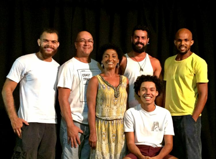 Projeto é utilizado como um intercâmbio com grupos de teatro baianos - Foto: Divulgação