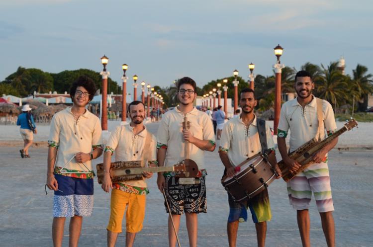 O grupo O Som Sisal irá aperfeiçoar técnicas junto a Pita Escuela Del Rio Aguas, na cidade de Sorbas - Foto: Divulgação