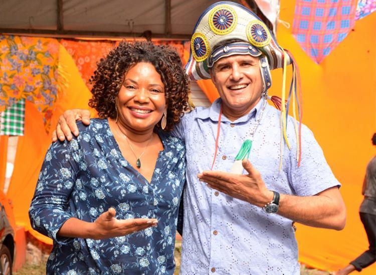 Na abertura, forrozeiro vai receber a cantora Margareth Menezes - Foto: Divulgação