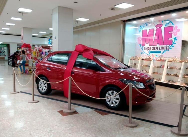 Shopping Piedade realiza sorteio de carro em promoção do dia das mães