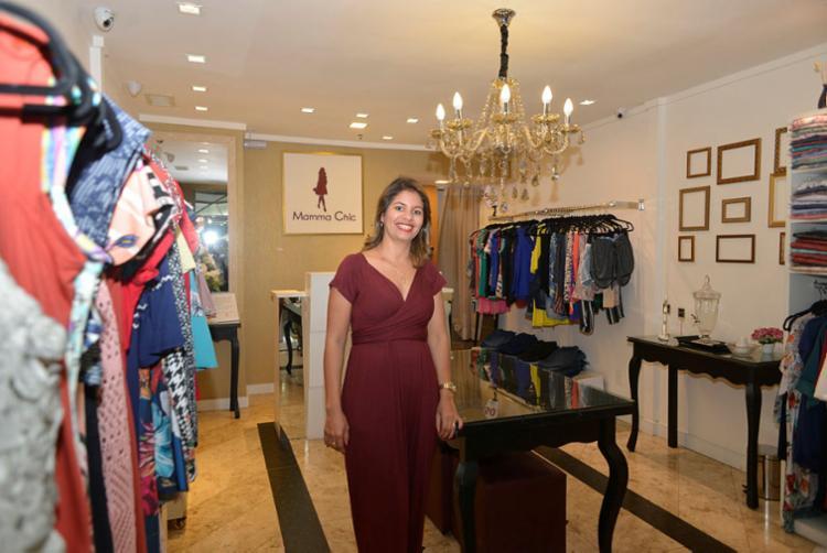 Negócio surgiu da dificuldade de Geise em encontrar roupas durante segunda gestação