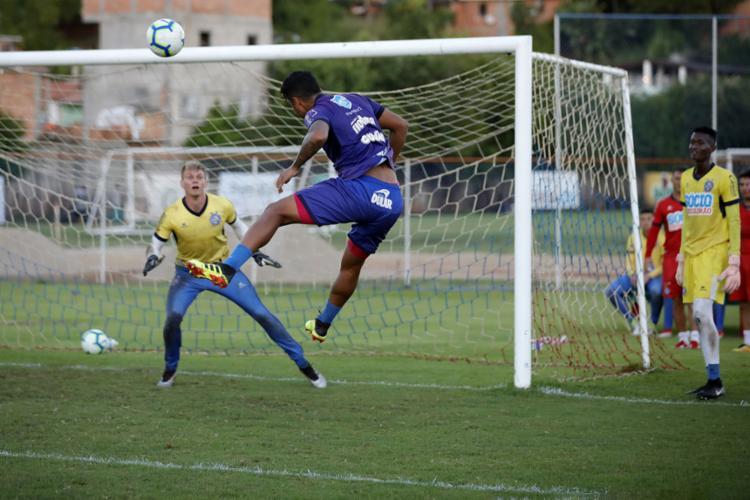 Douglas Friedrich levou apenas três gols nas últimas seis partidas do Tricolor - Foto: Felipe Oliveira l EC Bahia