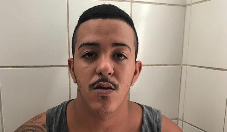 Douglas Souza Santos, de 20 anos, foi flagrado na localidade conhecida como Alto do São Francisco - Foto: Divulgação l SSP-BA