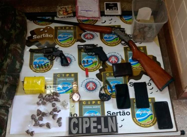 Material foi encontrado com os suspeitos - Foto: Divulgação | SSP-BA