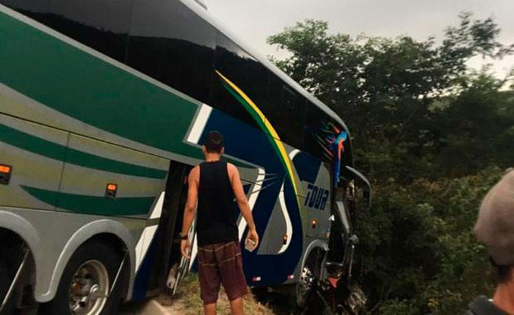Motorista morreu no local e nenhum jogador ficou ferido - Foto: Divulgação | ECB
