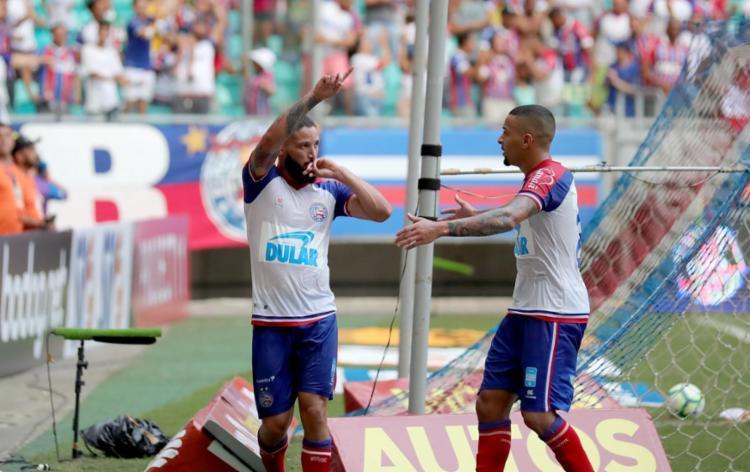 Sem Arthur Caike, Tricolor tentará conquistar seus primeiros pontos longe da Fonte Nova - Foto: Felipe Oliveira | EC Bahia