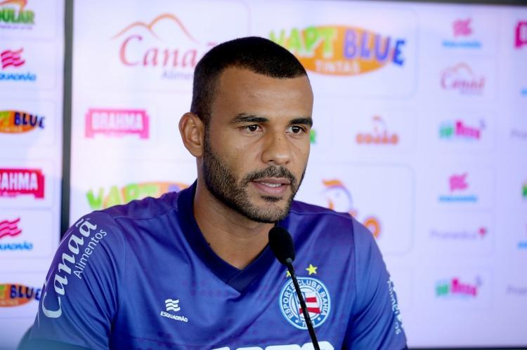 Ernando lamentou pelo segundo gol ter saído tão tarde - Foto: Felipe Oliveira | EC Bahia