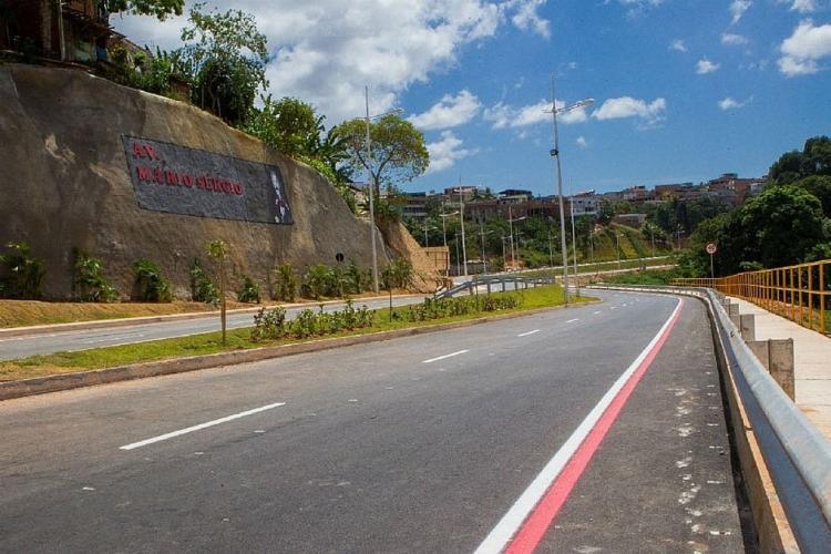 Avenida Mario Sérgio será um dos itinerários da linha especial - Foto: Camila Souza | GOV BA