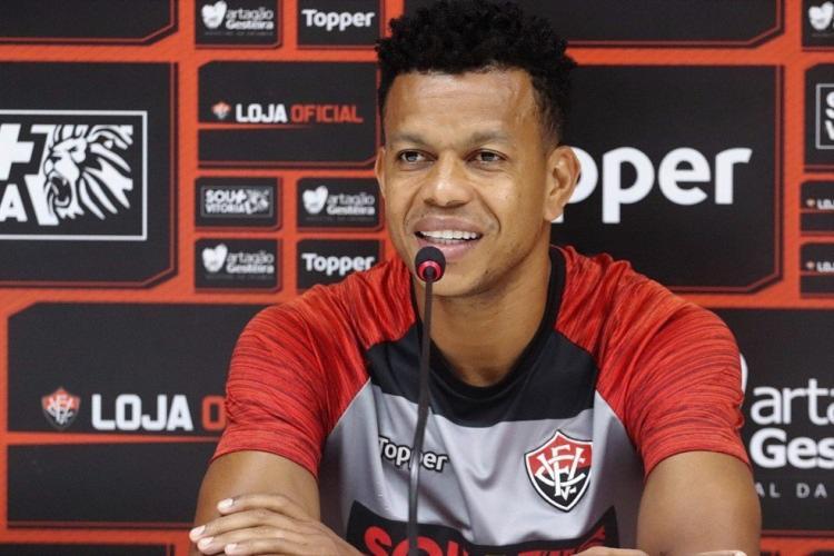 O atleta tem contrato com o Rubro-Negro até o fim do ano - Foto: Maurícia da Matta | EC Vitória