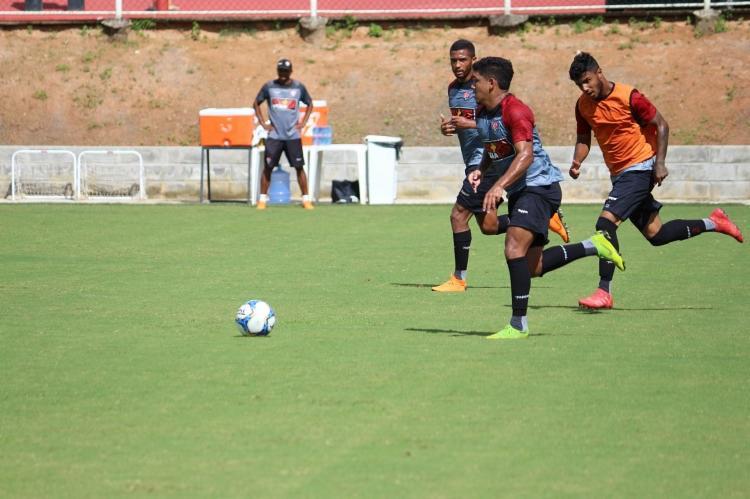 Reservas participaram de coletivo com o time sub-20 na Toca do Leão - Foto: Divulgação   EC Vitória
